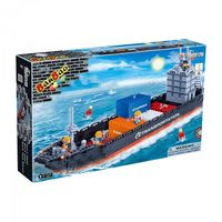 【BanBao 積木】運輸系列-貨櫃船 8767
