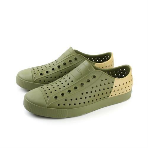 native JEFFERSON 洞洞鞋 綠色 男女鞋 no419