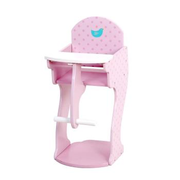 台灣【Mentari木製玩具】小淑女娃娃餐桌椅