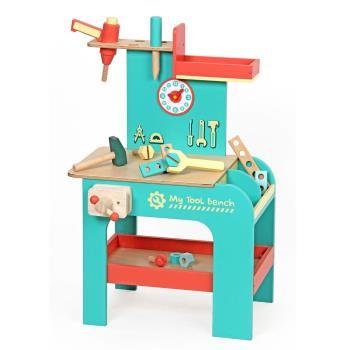 台灣【Mentari木製玩具】小寶貝計時工具台