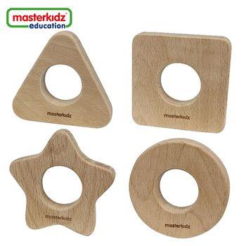 [Masterkidz]純天然固齒器-正方形、圓形、星形、三角形