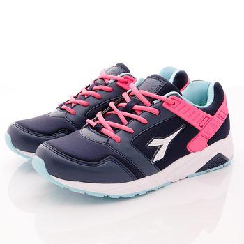 DIADORA-乳膠潮流慢跑鞋款-WC3817紫桃(女段)