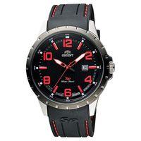 ORIENT 東方錶 SP 系列 冒險家運動石英錶-黑x紅時標/44mm FUNG3003B