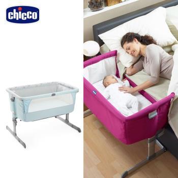chicco-Next 2 Me多功能移動舒適嬰兒床-湖水藍