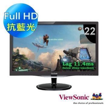 ViewSonic 優派 VX2257-mhd 22型 電競寬螢幕