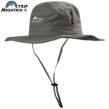 山之行MOUNTAIN TRIP大圓頂帽擴邊漁夫帽MC-298(防曬防紫外線)