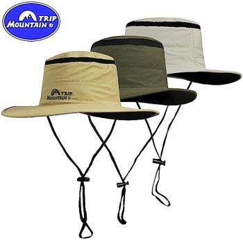 山之行MOUNTAIN TRIP大圓頂帽360度擴邊透氣帽 MC-242