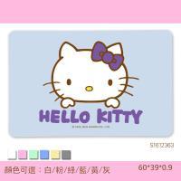 【三麗鷗獨家授權】Hello Kitty珪藻土吸水地墊_彩繪專區(60*39*0.9)