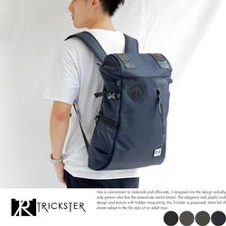 【TRICKSTER】日本機能包 後背電腦包 NB筆電後背包 大容量 輕量820克 雙肩包【tr1601】