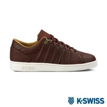 K-Swiss Lozan III經典休閒鞋-男-咖啡