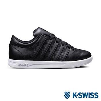 K-Swiss Court Pro S CMF運動休閒鞋-男-黑/白