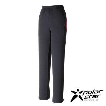 PolarStar 女 針織保暖運動長褲『深藍』P16444 │休閒│登山│露營│機能衣│刷毛褲