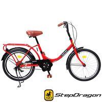 StepDragon 經典款 20吋井美復古單速淑女車