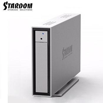 STARDOM 3.5吋/2.5吋6G/USB3.0/eSATA/FW800/1bay硬碟外接盒-i310-WBS3