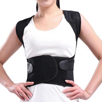 馨苑 人體工學挺背護腰美姿背心帶 ( 2入+贈品:護腕2雙-護膝2雙)