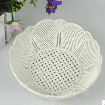 [協貿國際]   陶瓷果盤手工編織水果盤