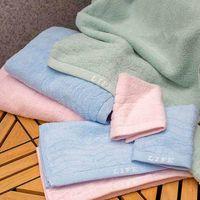 【法式寢飾花季】優雅生活-無撚紗超蓬鬆柔軟波紋浴巾(BA0849)