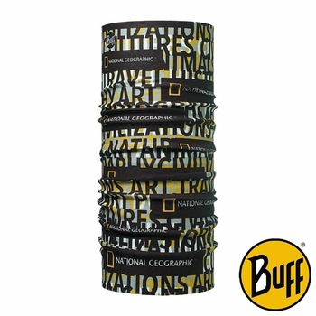 BUFF 文字符號 國家地理授權頭巾