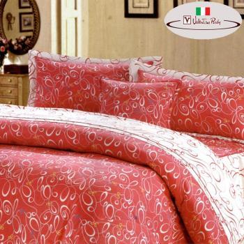 【Valentino Rudy】夢幻序曲純棉6件歐式床罩組-雙人