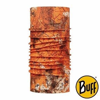 BUFF 橘色版圖 經典頭巾