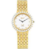 Ogival 瑞士愛其華-冷翡翠系列超薄鑽錶(尊爵金)3811DGK