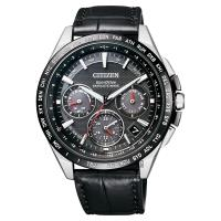 CITIZEN Eco-Drive 鈦 光動能GPS衛星對時錶-黑/ 43mm CC9015-03E