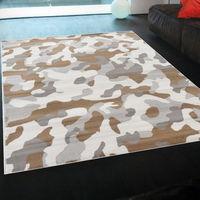 【Ambience】比利時Shiraz 現代地毯--迷彩 (160x230cm)