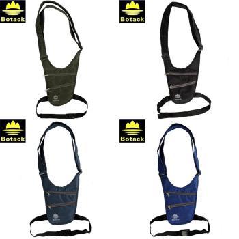 布特Botack專業防潑水旅行貼身腰包防竊包隱密單肩斜挎包 LMT2-12001
