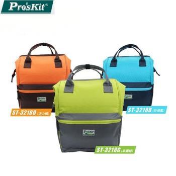 台灣寶工Pro'sKit炫彩時尚後背包多功能旅行包雙肩背包ST-3218
