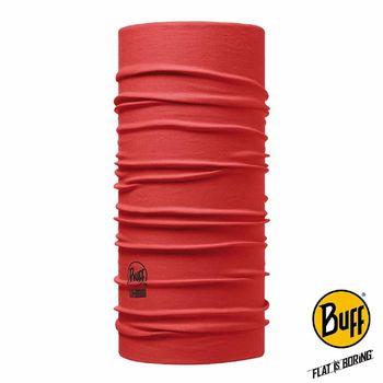 BUFF 紅色素面 COOLMAX頭巾