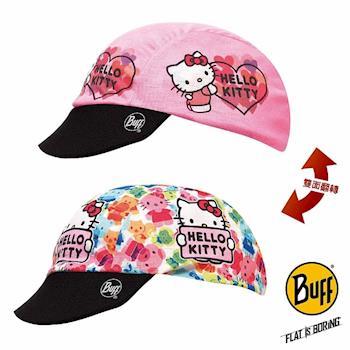 BUFF 蜜糖KITTY 寶寶雙面遮陽帽
