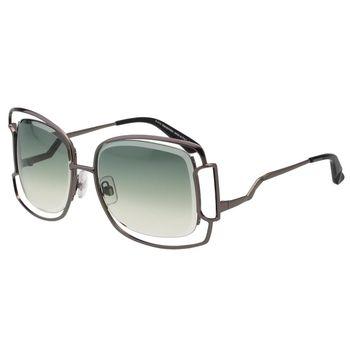 SWAROVSKI太陽眼鏡-造型方框-(槍色)-SW47