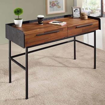 【AT HOME】畢卡索4尺雙色二抽書桌