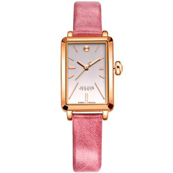 【JULIUS】仲夏夜之夢皮錶帶腕錶(二色/21x30mm)