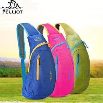 法國品牌Pelliot防潑水背包輕便運動斜跨包斜肩包三角包7L 9278