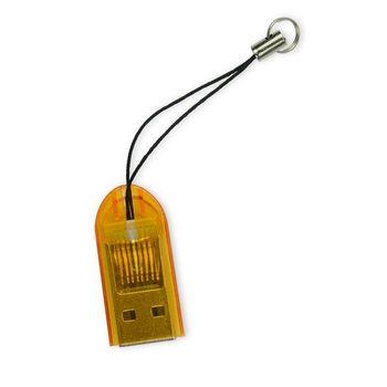 【YANG YI揚邑】TF/MicroSD/SDHC/SDXC吊飾讀卡機(隨機出貨)