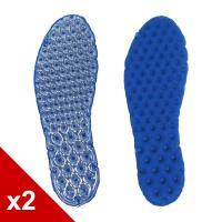 ○糊塗鞋匠○ 優質鞋材 C87 氣墊BK布鞋墊 (2雙/組)
