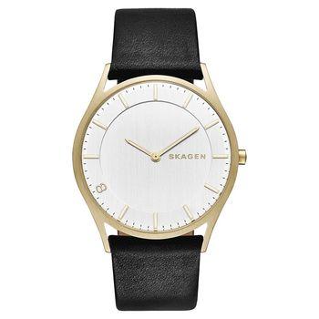 SKAGEN HOLST 全球限量特別版女錶-金框x黑/38mm SKW6246