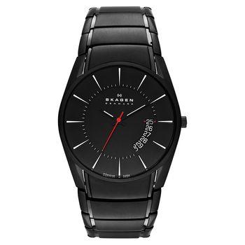 SKAGEN 運動系列 時尚腕錶-IP黑/42mm SKW6035