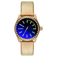 DIESEL Gorgeous 華麗派對時尚炫彩腕錶-金/ 38mm DZ5460