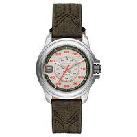 DIESEL SPROCKET 率性時尚腕錶-灰x墨綠42mm DZ1740