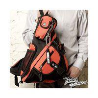 DF BAG SCHOOL - 率性斜背可拆式多功能休閒包-橘色