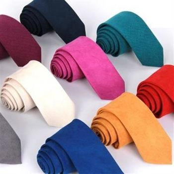 【米蘭精品】領帶手打領帶純色百搭呢絨時尚11色69d16(任兩條)
