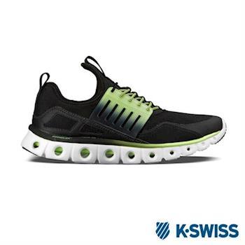 K-Swiss Tubes X Runner CMF運動休閒鞋-男-黑/綠漸層
