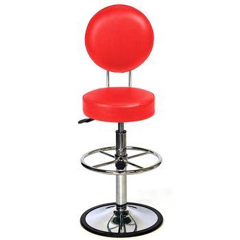 aaronation 愛倫國度 - 日月系列吧台椅 100% 台灣製造 YD-T15-1-八色可選