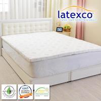 LooCa 比利時進口棉柔5cm latexco乳膠床墊 加大6尺