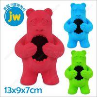 美國JW《PlayBites抗憂鬱漏食熊》貪吃大嘴怪益智玩具
