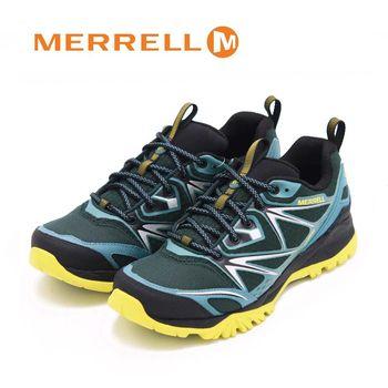 MERRELL CAPRA BOLT GORE-TEX 登山健行鞋 男鞋-綠(另有黑、橄欖綠)