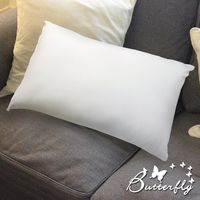 【BUTTERFLY】素面柔彈壓縮枕 一入