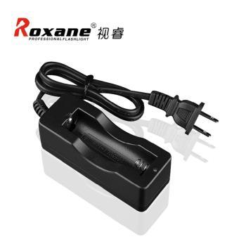 Roxane視睿單槽電池充電器18650鋰電池充電器18650電池充電器18650充電座